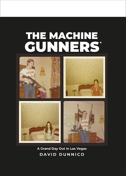 Machine Gunners David Dunnico Book Cover