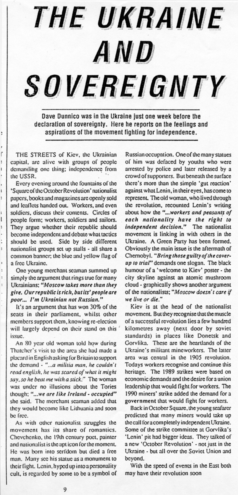 ukraine article 1991