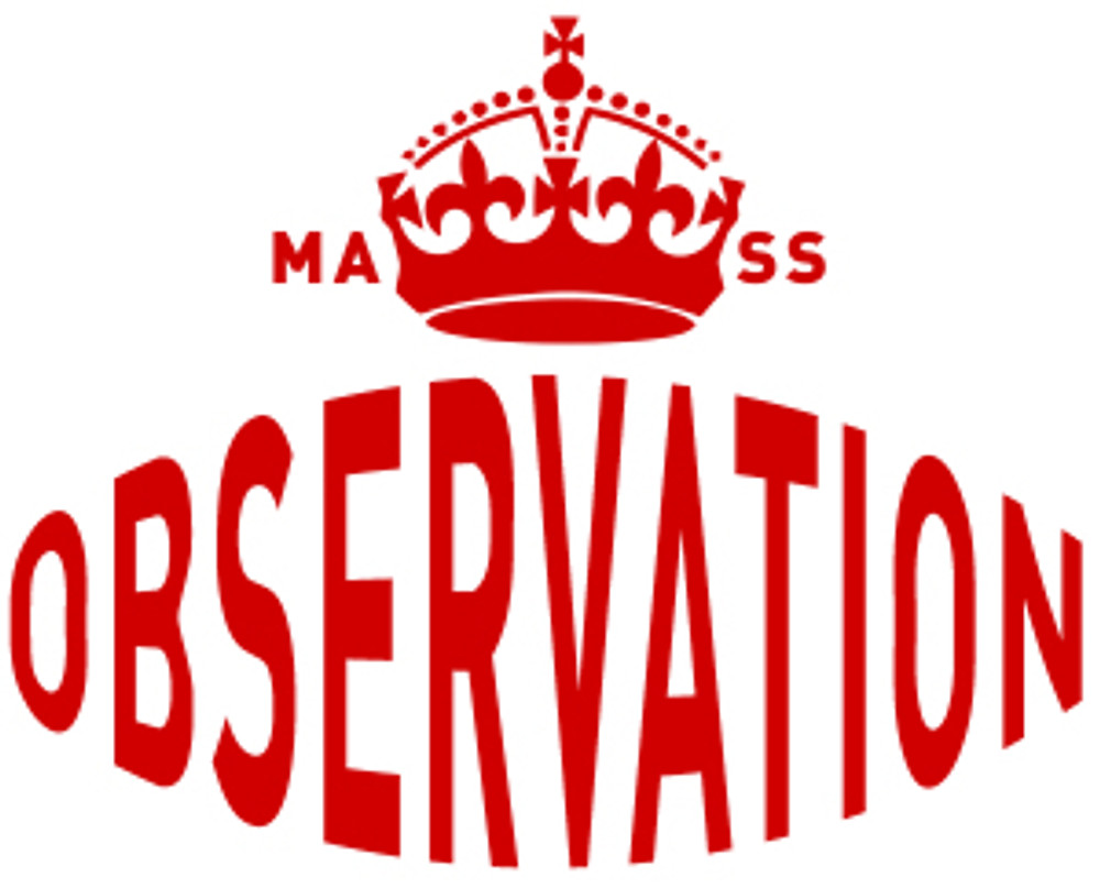 MASS OBSERVATION CROWN