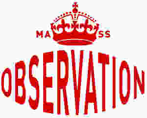 MASS OBSERVATION CROWN