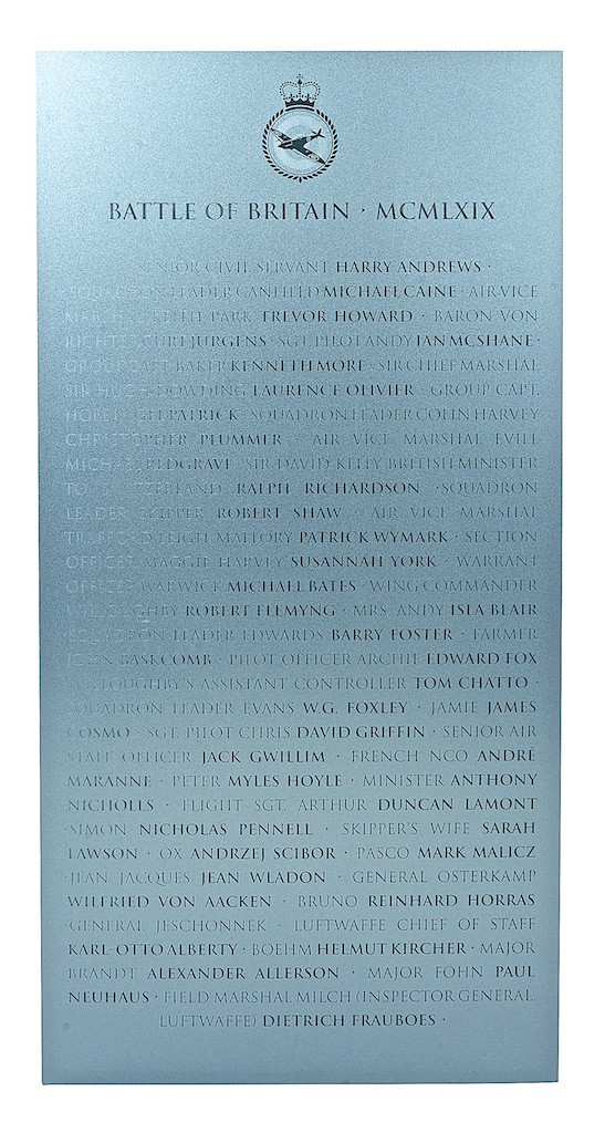 A War Imagined ('Battle of Britain' Plaque)