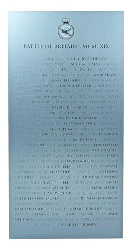 A War Imagined ('Battle of Britain' Plaque)