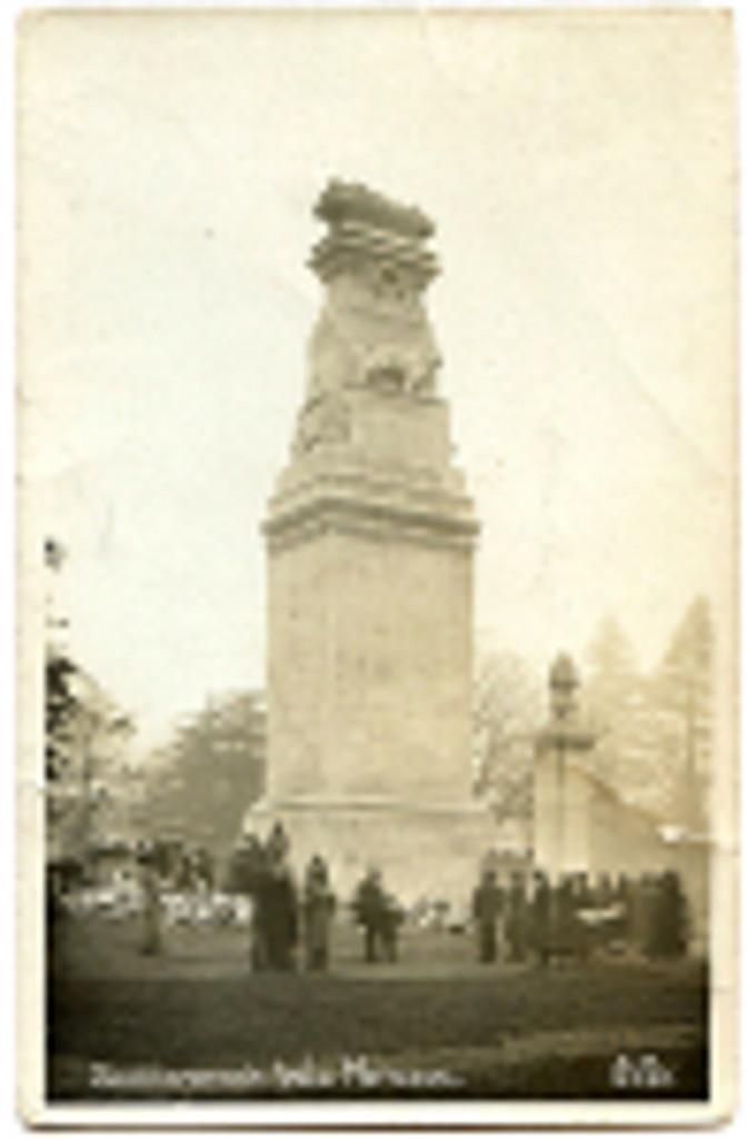 southampton-cenotaph-vintage-photograph