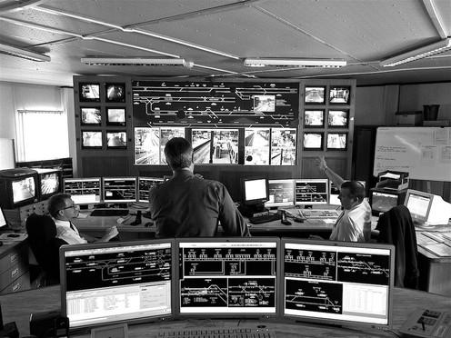 Metrolink Control Room