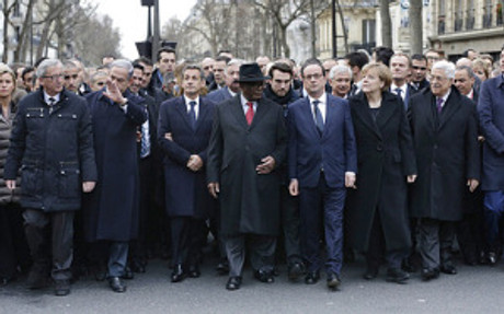 TOPSHOTSFrench President Francois Holla