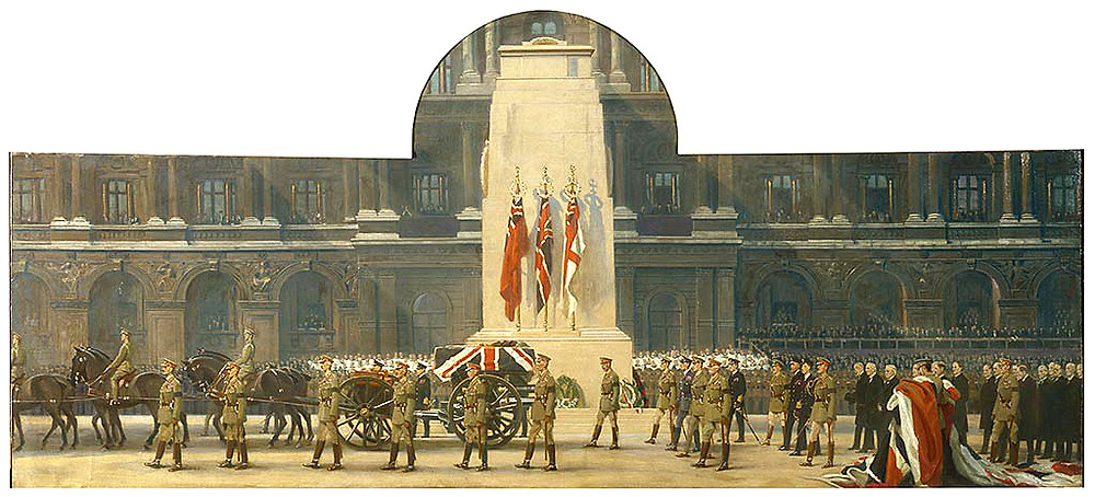 the-passing-of-the-unknown-warrior-11-november-1920-frank-o-salisbury