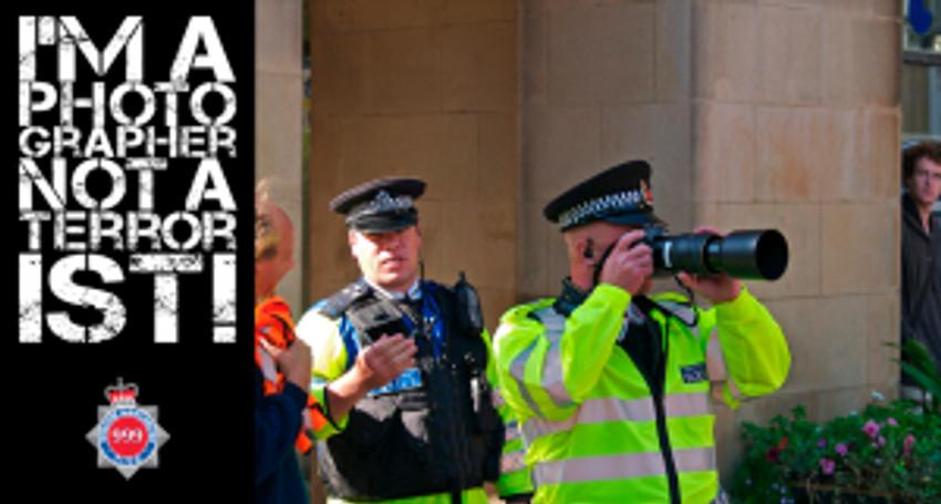 not a terrorist police