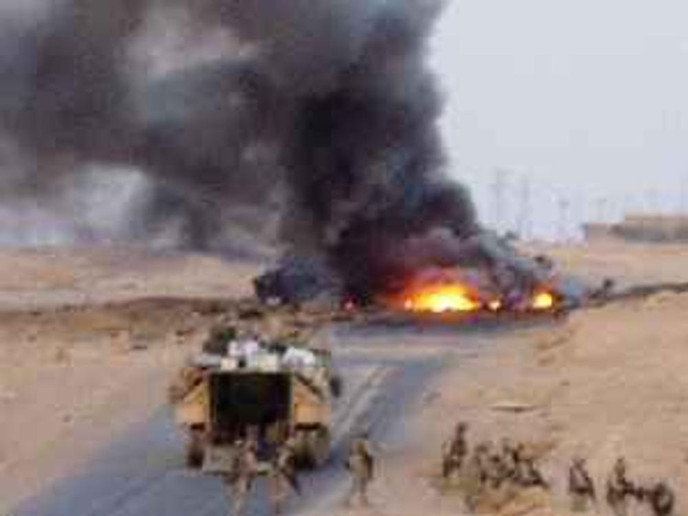 IED, Iraq, August 3, 2005