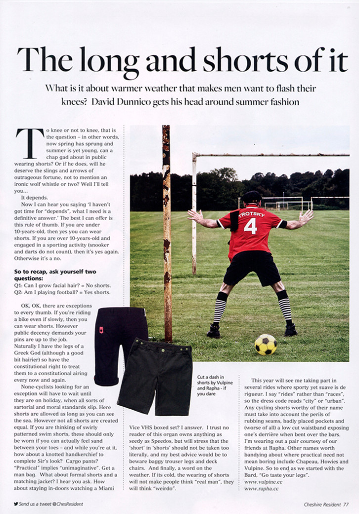 cheshire resident shorts column