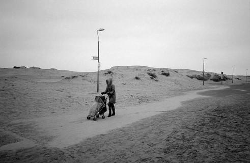 Desert beach pram