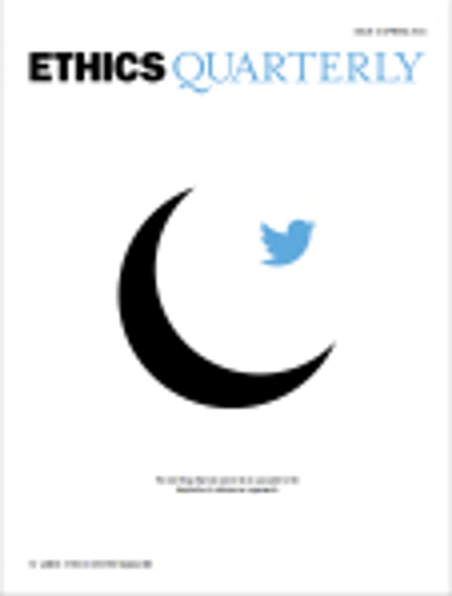 ethics quarterly cover