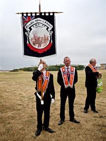Orange Lodge Marchers