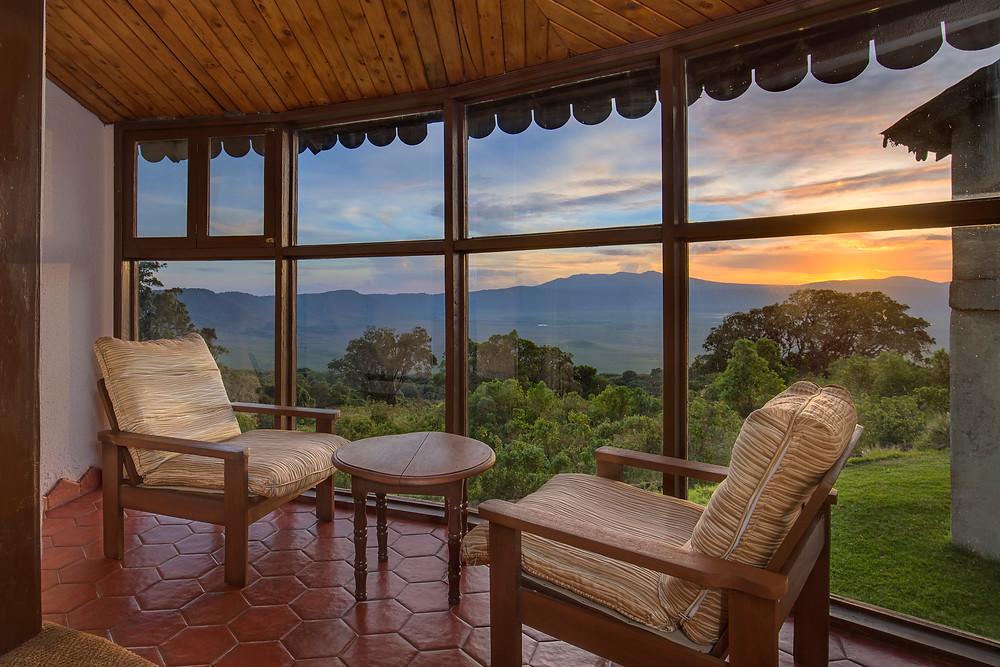 Ngorongoro Sopa Lodge in Tanzania