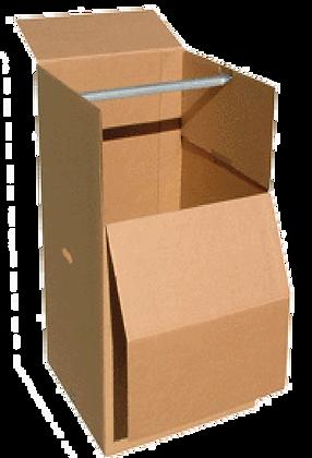 "3 Wardrobe boxes     24"" X 21"" X 46"""