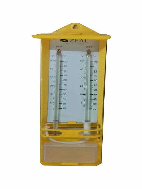 Zeal Make Wet And Dry Bulb Hygrometer (Mason's Type)