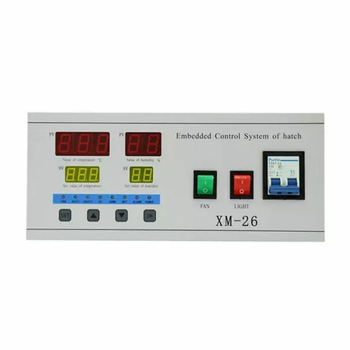 XM26 fully automatic digital, practical, efficient, egg incubator controller