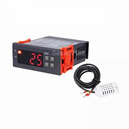 Digital Air Humidity Controller 1-99%RH Hygrostat Humidistat Humidification Deh