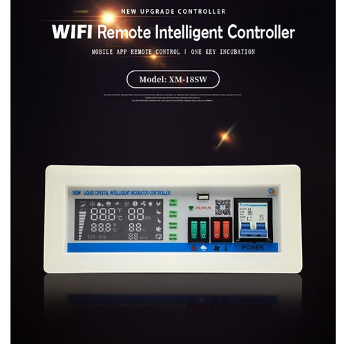XM18SW Egg  Incubator Controller  With Remote Control Mob App's