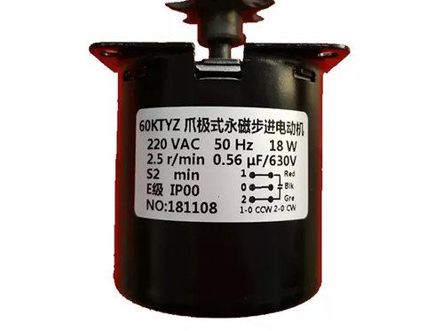 220V 2.5r/min 2.5 Turn per min 28 Watt & 14 Watt  Magnetic Electric Gear Motor