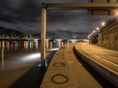 L'eau monte sur Seine