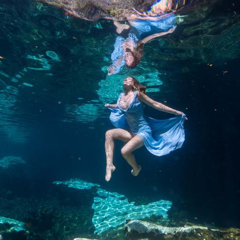 Cenote Azul - Mexico