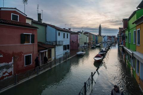 Acqua alta - Burano