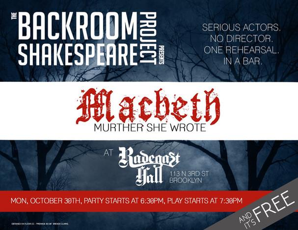 Macbeth in Brooklyn