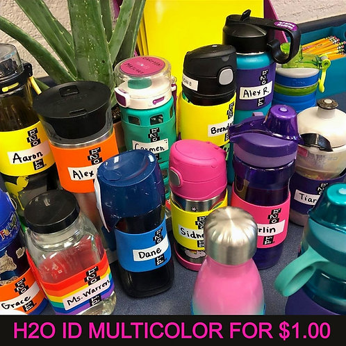 H2OID® MULTICOLOR FOR A DOLLAR