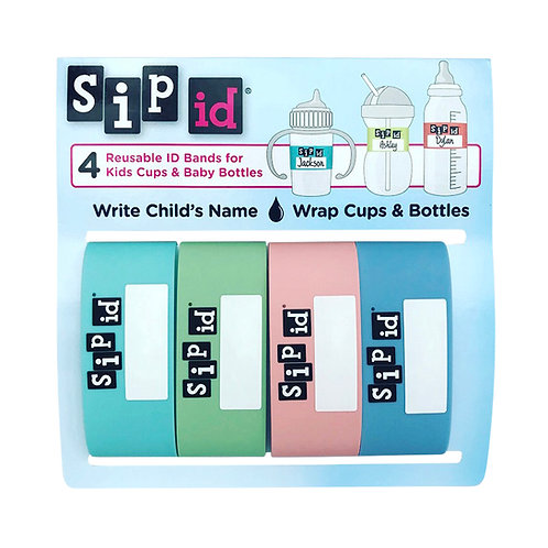 SIP ID® PARTY PACK – 4 PASTEL COLORS