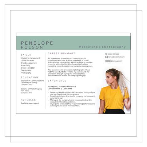 Resume Example H