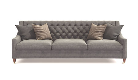 Modern%20scandinavian%20classic%20gray%20sofa%20with%20legs%20with%20pillows%20on%20isolated%20white