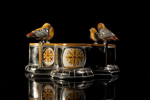 Fuente 4 pájaros