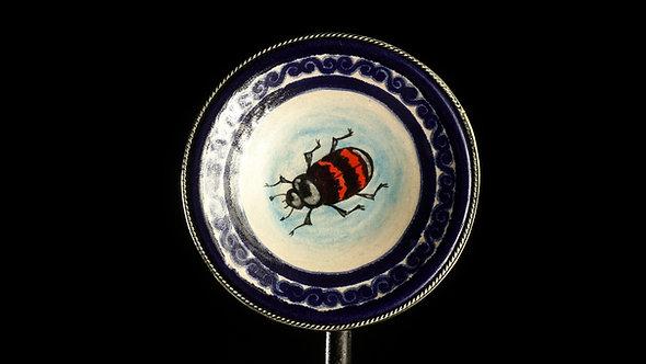Plato escarabajo
