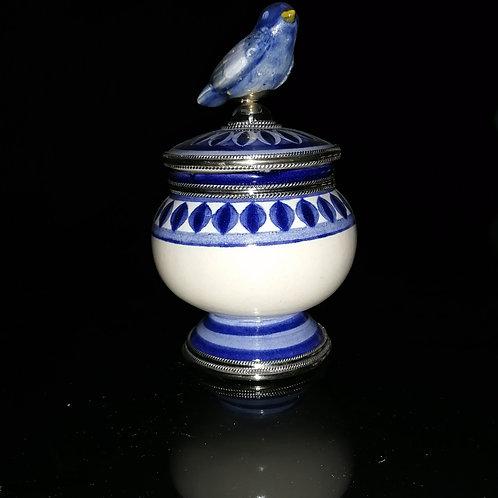 Chiquita pájaro azul