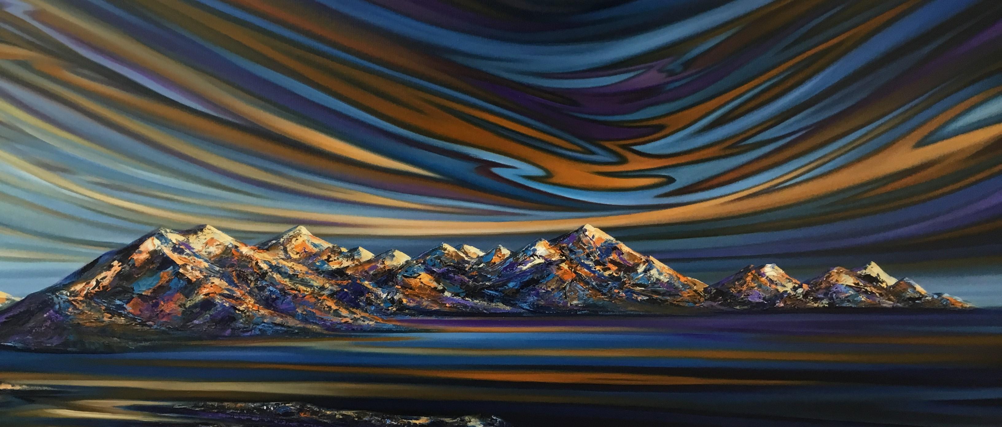 Mystical Eve Oil On Canvas