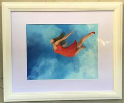 Freedom Acrylic Framed