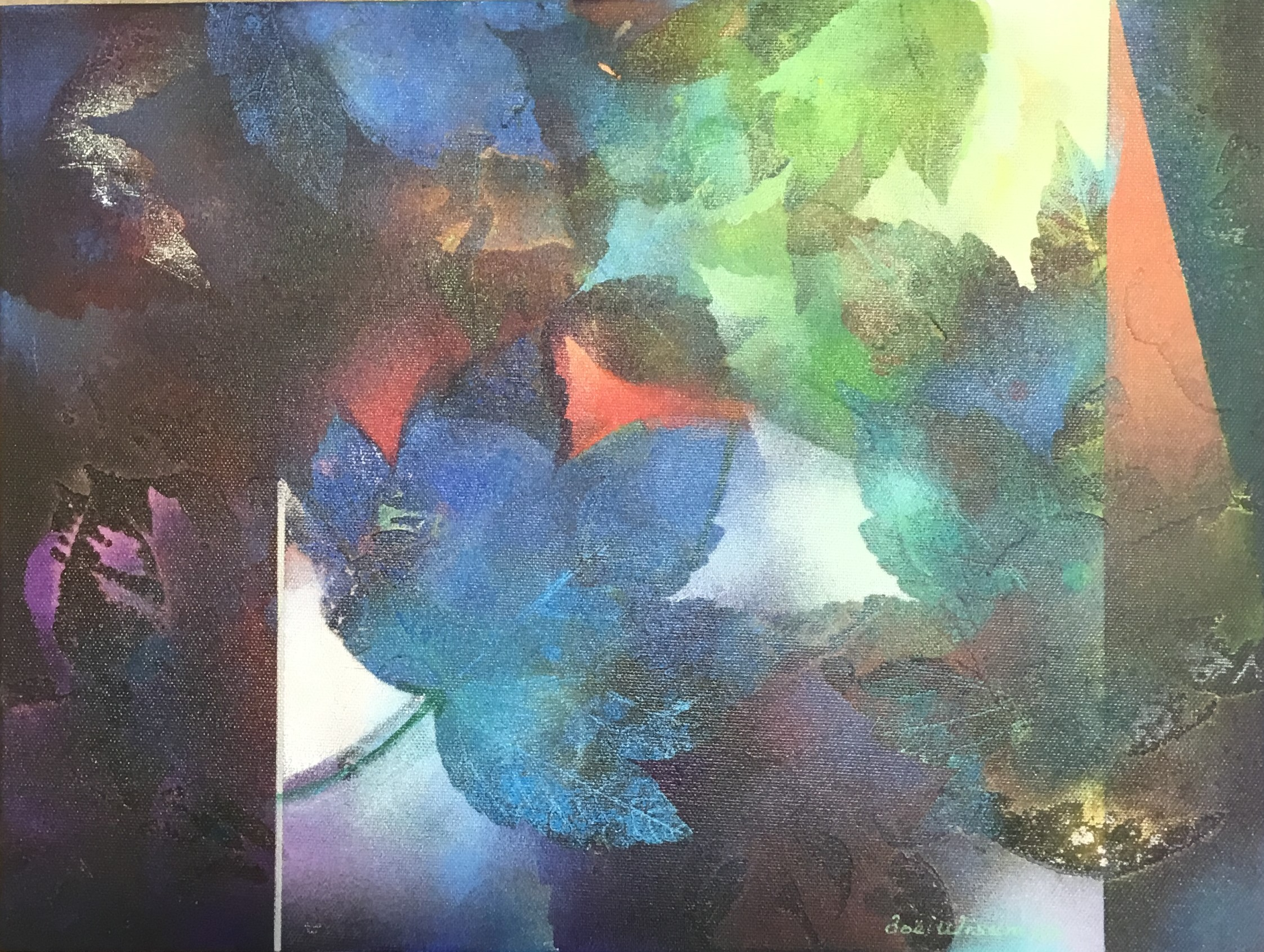 Zoe Wiseman - Dappled Light Mixed Media