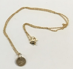 Wave 9ct Gold Necklace