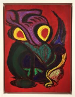 Yvonne Eggers - Tiki ORIGINAL Chalk And