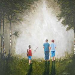 The Big Adventure Acrylic On Canvas