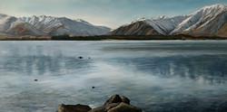 Lake Tekapo Oil On Canvas
