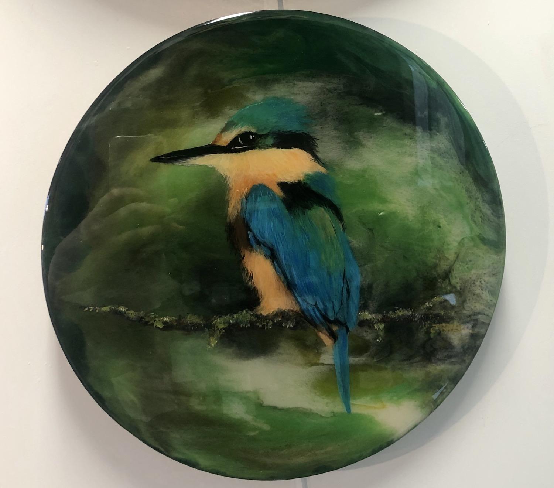 NZ Kingfisher Resin on board