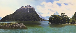 Mitre Peak Oil On Canvas