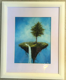 Overflowing With Memories Acrylic Framed