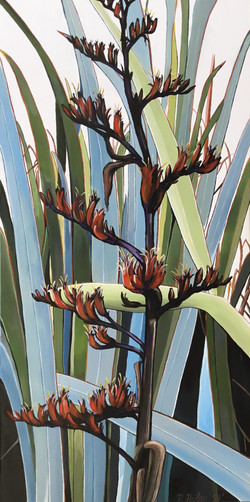 Flax Acrylic On Canvas