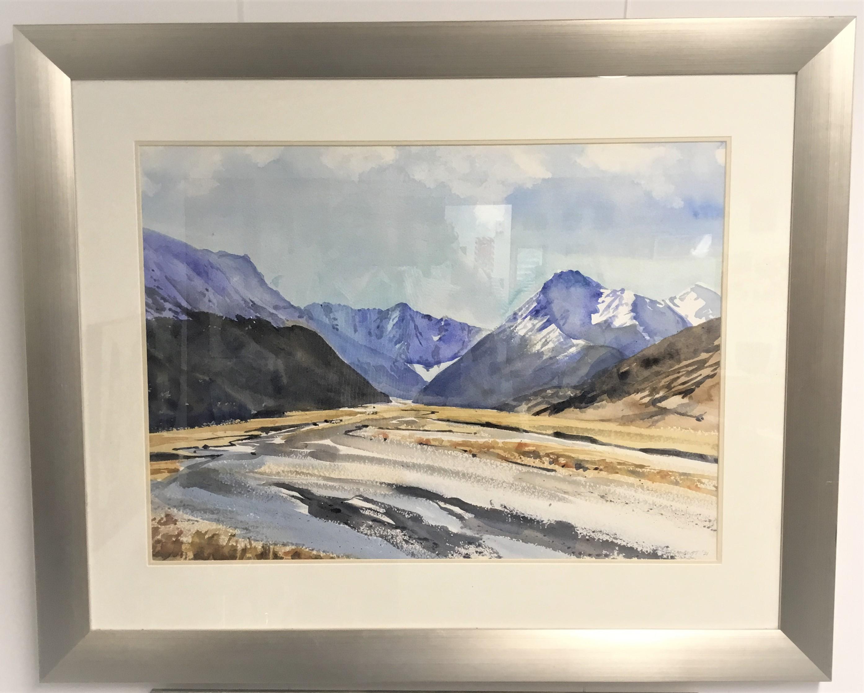 Debbie Lambert - Ahuriri Valley Water Colour Original