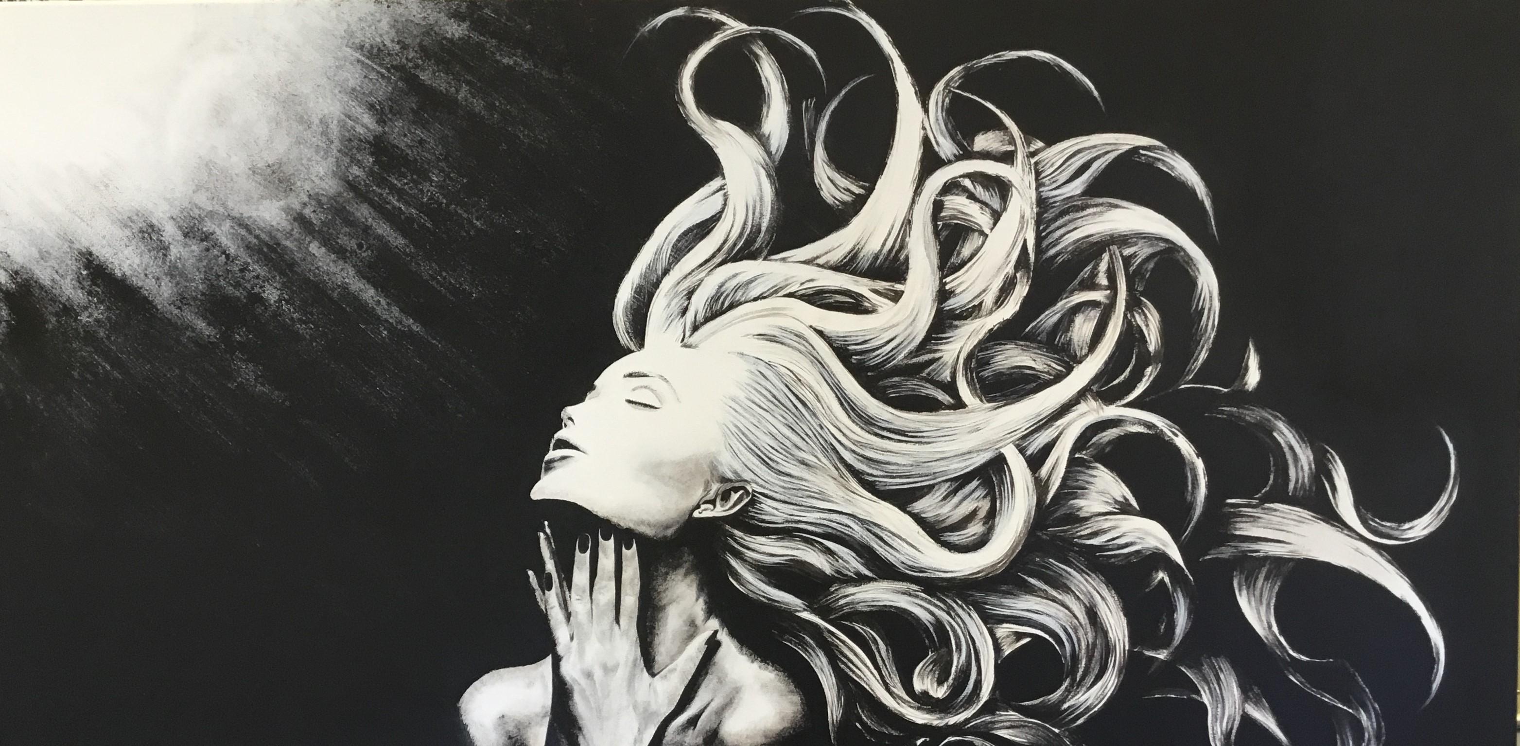 Greg Marinan - Illuminated Acrylic On Canvas