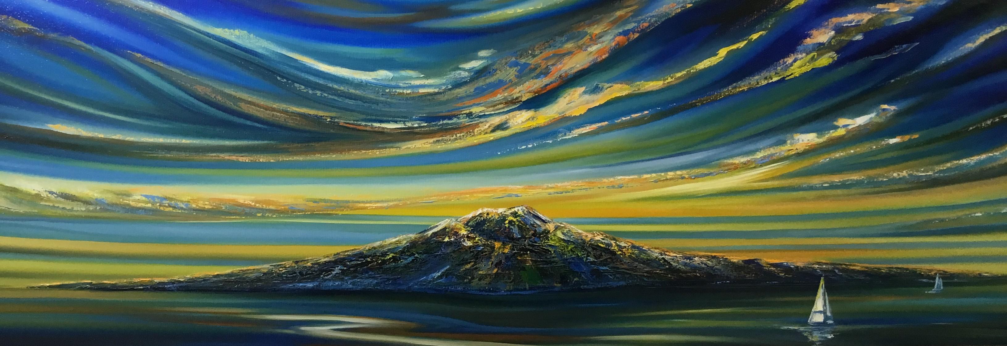 Dawn Paradise Oil On Canvas