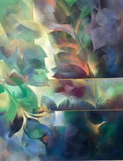Passage of light Mixed Media On Canvas