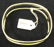 Solid Double Bangle